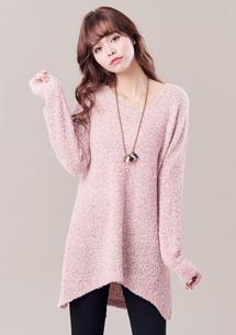輕暖質感混色針織毛衣